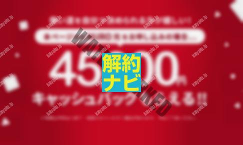 【関東の方限定】インターネット回線をNURO光にして4.5万円の現金ゲット